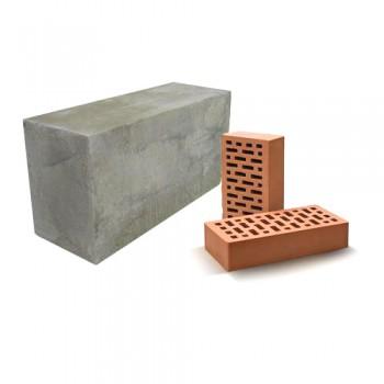 Блоки и кирпич