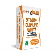 Штукатурка гипсовая белая машинного нанесения  Эталон ClimLife White M/N 30 кг