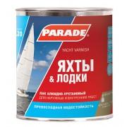 Лак яхтный PARADE L20 матовый 2,7 л