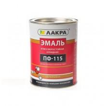 Эмаль ПФ-115 Кофе с мол. Лакра 1 кг