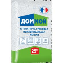 Штукатурка гипсовая ДОМ МОЙ, 25кг