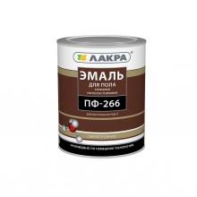 Эмаль ПФ-266 Красно-коричневая 1 кг Лакра