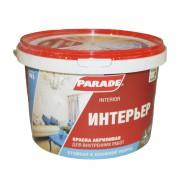 Краска акриловая PARADE CLASSIC W3 Интерьер белая матовая 2,5л