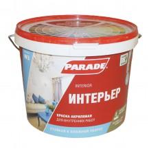 Краска акриловая PARADE CLASSIC W3 Интерьер белая матовая 5л