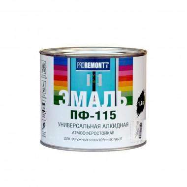 Эмаль ПФ-115 PROREMONTT белый глянец 1,9кг
