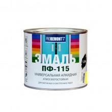 Эмаль ПФ-115 PROREMONTT желтый 1,9кг