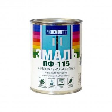Эмаль ПФ-115 PROREMONTT зеленый 0,9кг