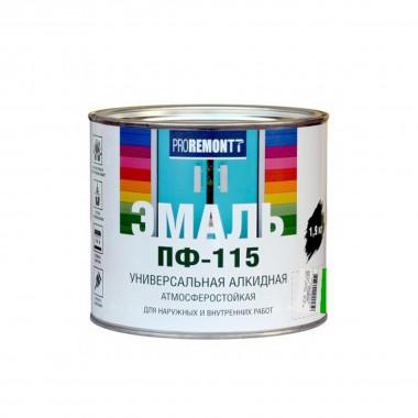 Эмаль ПФ-115 PROREMONTT зеленый 1,9кг