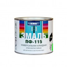 Эмаль ПФ-115 PROREMONTT ярко-зеленый 1,9кг