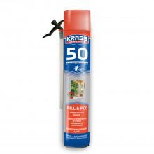 Пена монтажная KRASS Home Edition 50 Универсальная, 750мл