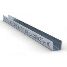 Профиль потолочный направляющий (ППН) Knauf 28х27x3000мм