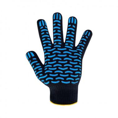 Перчатки Люкс волна черная