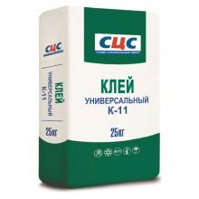 Клей плиточный СЦС Универсальный К-11, 25кг