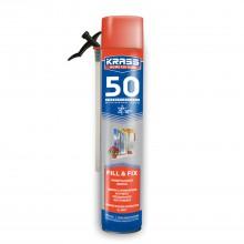 Пена монтажная KRASS Home Edition 50 Зима Универсальная, 750мл