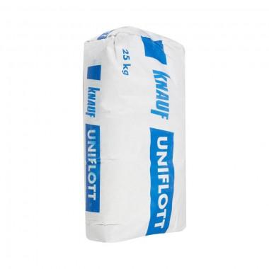 Шпаклевка гипсовая высокопрочная Knauf Унифлот 25кг