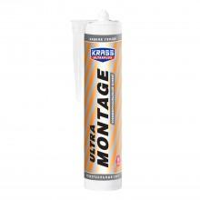 Клей жидкие гвозди KRASS Ultramontage универсальный, 260мл, белый