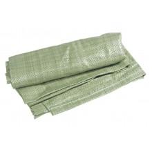 Мешок для стр. мусора ПП зелен.55*95
