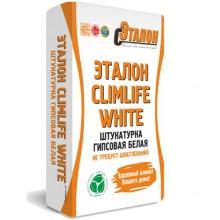 Штукатурка гипсовая белая Эталон ClimLife White 30 кг
