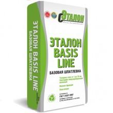 Шпатлевка цементная базовая Эталон BASIS LINE 25кг