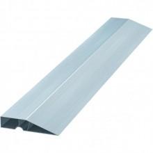 Правило алюминиевое, профиль трапеция 2,5м