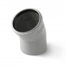 Отвод канализационный 110*30 серый ПВХ
